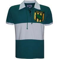 Camiseta Liga Retrô Brasil Rugby - Masculino 857eb2da33871