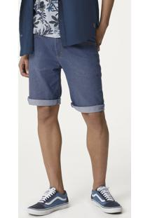 Bermuda Jeans Masculina Em Modelagem Slim