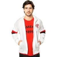 Dafiti. Jaqueta Adidas Performance Sf Hood Flamengo Branca 1b10f0669111a