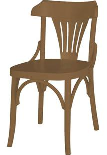 Cadeira Opzione Acabamento Marrom Claro - 27451 - Sun House