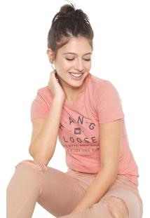 Camiseta Hang Loose Original Coral