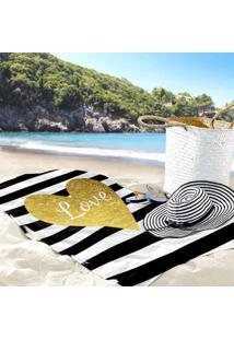 Toalha De Praia / Banho Love Brand