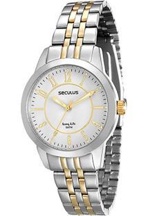 Relógio Analógico Seculus 28666Lpsvba2 Feminino - Feminino
