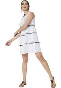 Vestido Com Costura Color Block