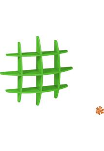 Prateleira Taylor Hashtag Média Mdf Verde 598-0057 - 90X90X14 Cm