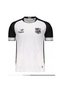 Camisa Ceará Ii Topper 2016 Nº10 Tamanho Especial Plus Size - 4138034-128