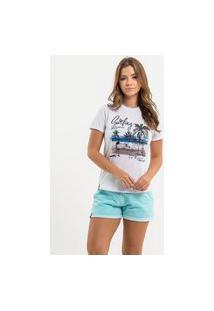 T-Shirt Nogah Surfing Branca