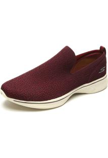 Slipper Skechers Go Walk 4 - Gifted Vinho