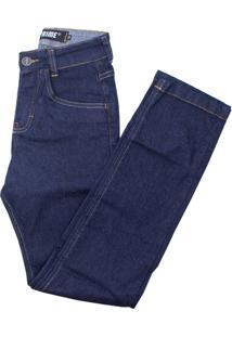 Calça Prime Jeans Infantil Basic - Masculino-Azul Escuro