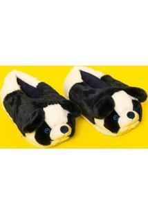 Pantufa Panda- Preta & Brancapuket