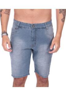 Bermuda Jeans Calfin City Recorte Bolso - Jeans - Masculino - Dafiti