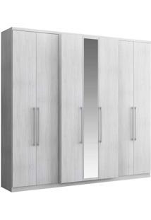 Guarda-Roupa Casal Hefesto Com Espelho 7 Portas E 4 Gavetas - 1074 - Carraro - Arezzo