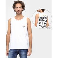Netshoes. Camiseta Regata Santos Futebol Clube Masculina ... 24ad0bca2d5
