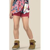 d34230704 Puc. Shorts Jeans Infantil Menina Com Barra Irregular ...