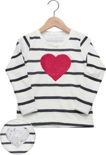 Camiseta Fun Friends Kids Menina Branca