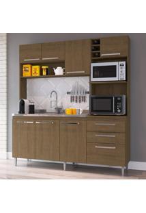 Cozinha Compacta Blume 8 Pt 2 Gv Marrom