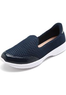 Slipper Modare Têxtil Azul-Marinho