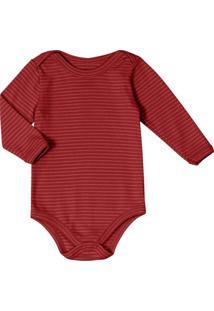 Body Infantil Unissex Vermelho