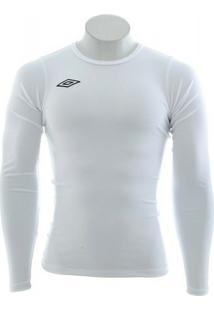Camisa Térmica Manga Longa - Branca - Umbro - Masculino 3535fbcef66f8