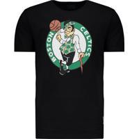 3e7c244b26 Home Vestuário Esportivo Camisetas Estampada Vinil. Camiseta Mitchell Ness  Nba Boston Celtics Preto