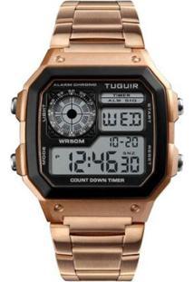 Relógio Romaplac Tuguir Digital - Unissex-Rose Gold