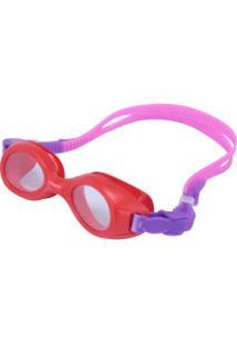 Óculos De Natação Oxer Funny - Infantil - Rosa/Roxo
