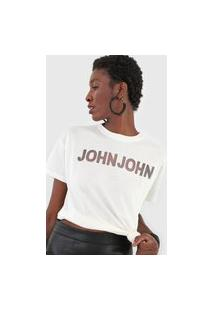 Camiseta John John Vacum Off-White