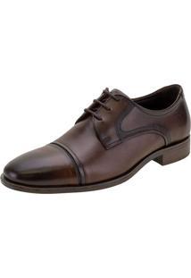 Sapato Masculino Medison Smart Comfort Democrata - 255106 Café 39