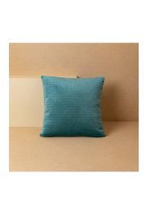 Capa De Almofada Carmiel 45X45 Cor: Azul - Tamanho: Único
