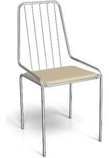 Cadeira Kappesberg Crome Benim Nude