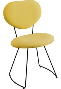 Cadeira Gran Belo Mauritânia Linho Amarelo