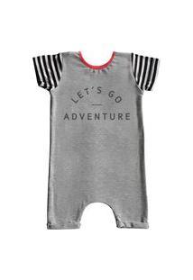 Pijama Curto Comfy Adventure