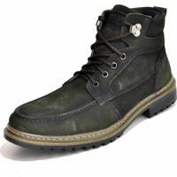 Coturno Verde Verde Militar masculino   Shoes4you 68b604e081