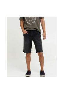 Bermuda Masculina Jeans Bolsos Mr