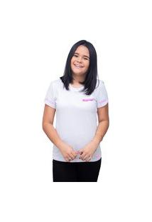 Camiseta T-Shirt Manga Curta Personalizada Banda Black Pink - Branco