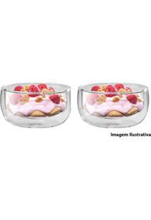 Bowl De Sobremesa Zwilling Com Parede Dupla 2 Peças 280Ml - 21443