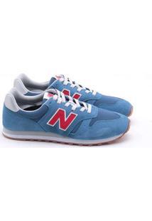Tênis New Balance Camurça Masculino Azul