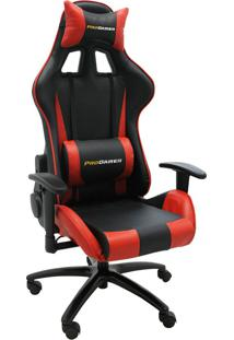 Cadeira Office Pro Gamer V2-Rivatti - Vermelho / Preto