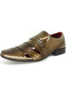 Sapato Social Bali Man Verniz Topazio