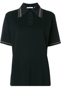 Helmut Lang Camisa Polo Mangas Curtas - Preto