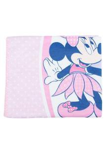 Cobertor De Bebê Encantado Rosa