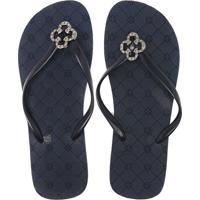 Chinelo Azul Marinho De Grife feminino   Shoes4you 3de4ec4c73