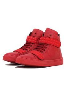 Sneaker K3 Fitness Skull Vermelho