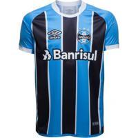a680cbedb0a55 Camisa Umbro Masculina Grêmio Oficial 1 2017 (Fan)