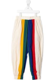 Bobo Choses Calça Esportiva Com Recortes - Branco
