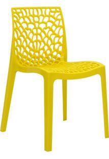 Cadeira De Jantar Gruv Amarelo