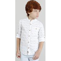 CEA. Camisa Infantil Estampada