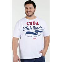 d8db8c24a Camiseta Masculina Estampa Frontal Plus Size Águia Tex