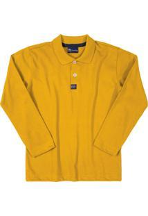 Camisa Quimby Infantil Amarelo