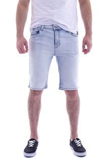 aaed14e13 Bermuda Jeans Classic Max Denim Masculino Azul Claro 10458-15 - 38
